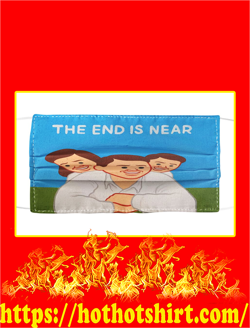 Joan Cornella the end is near face mask- pic 1