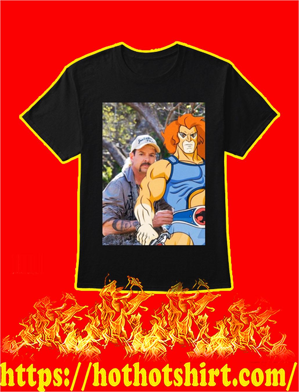 Joe Exotic Thundercats shirt - black
