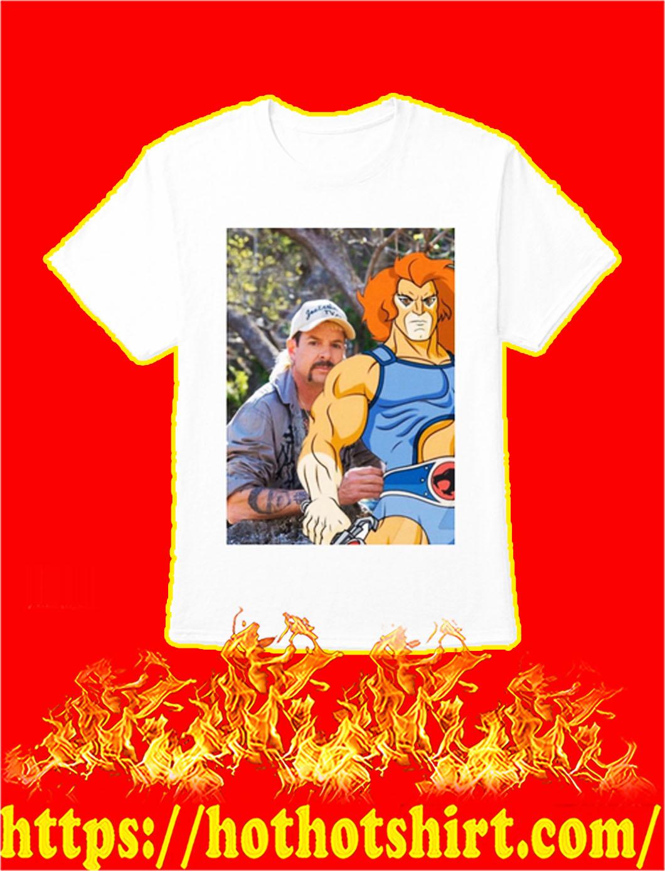Joe Exotic Thundercats shirt- white
