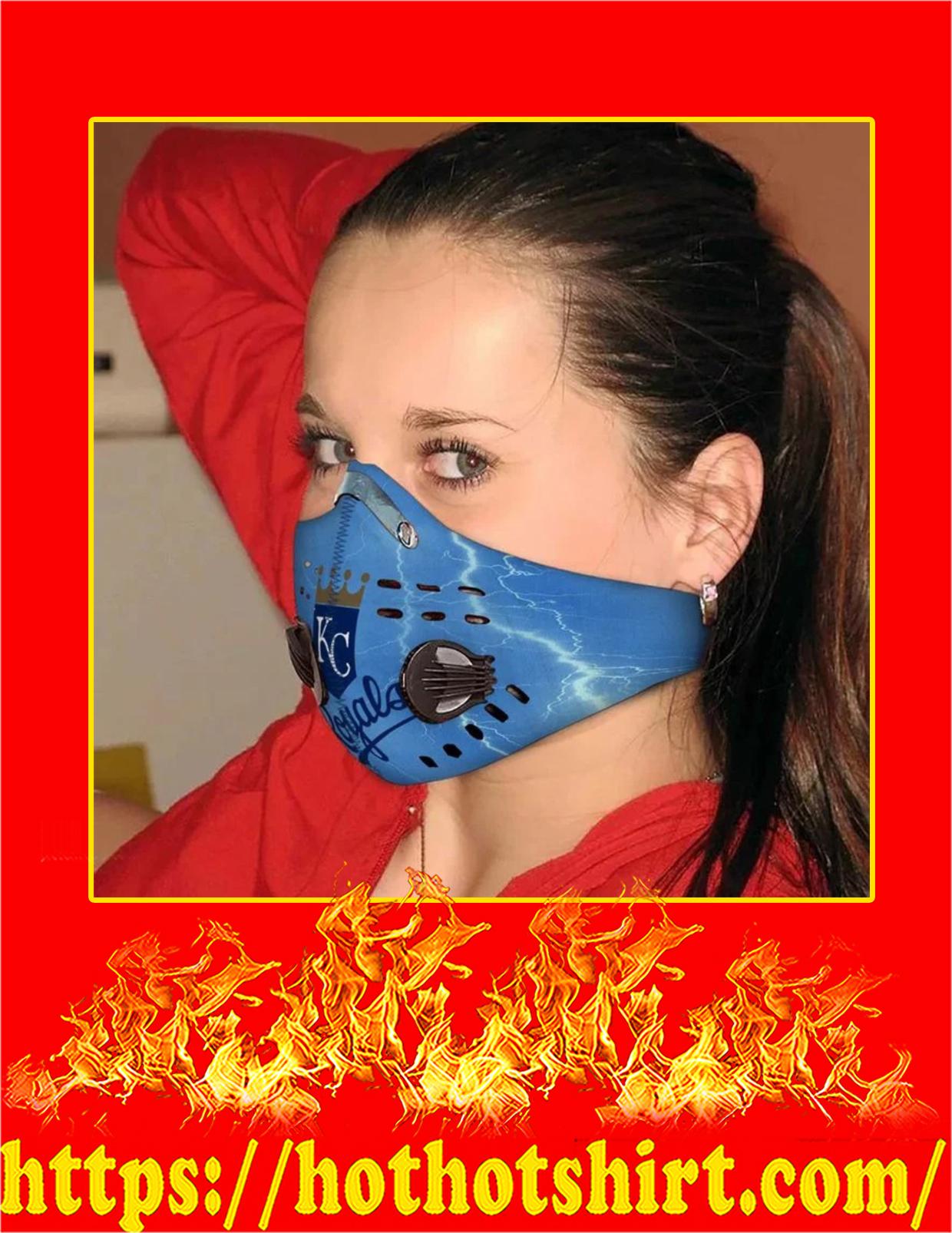 KC royals filter face mask