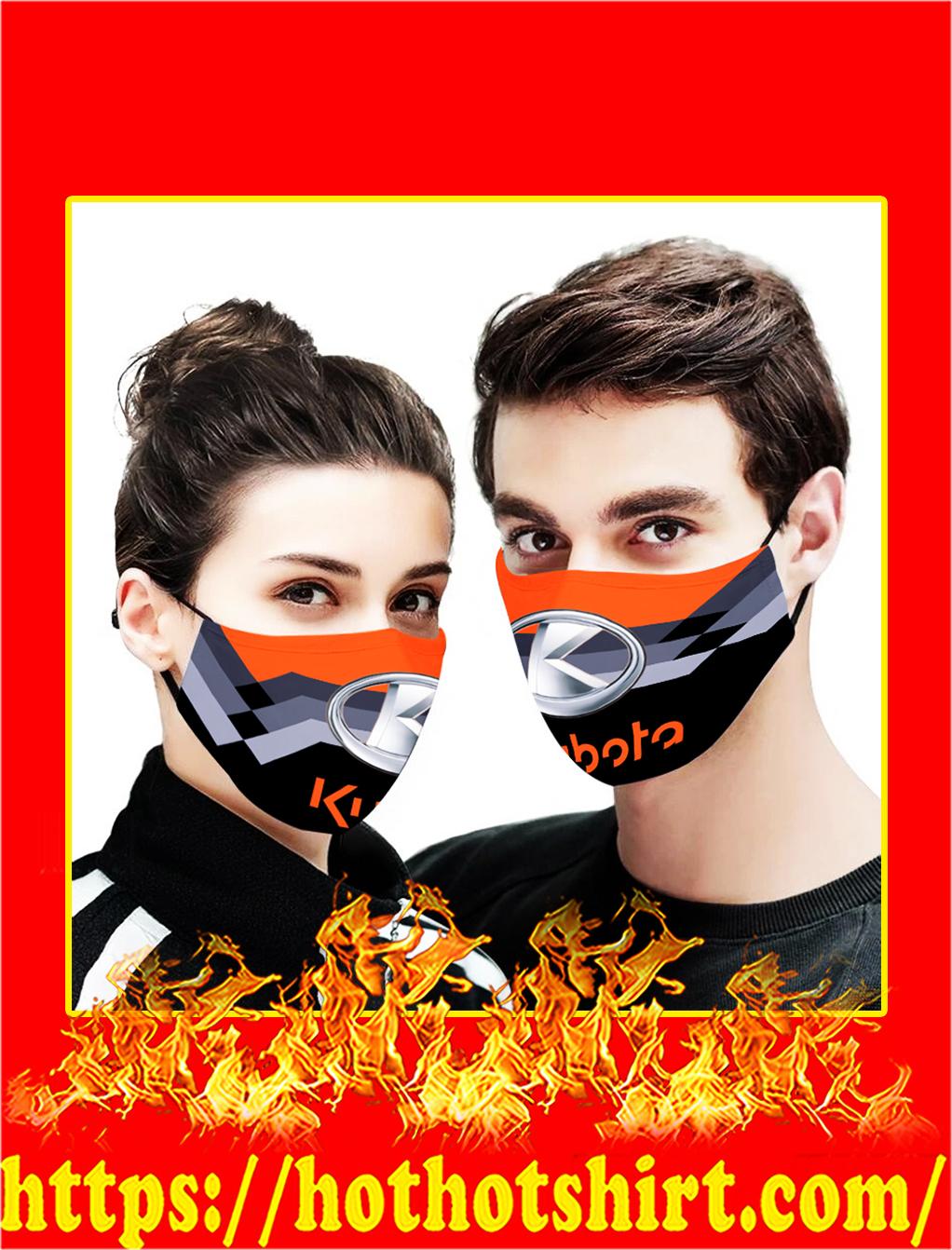 Kubota face mask- pic 1