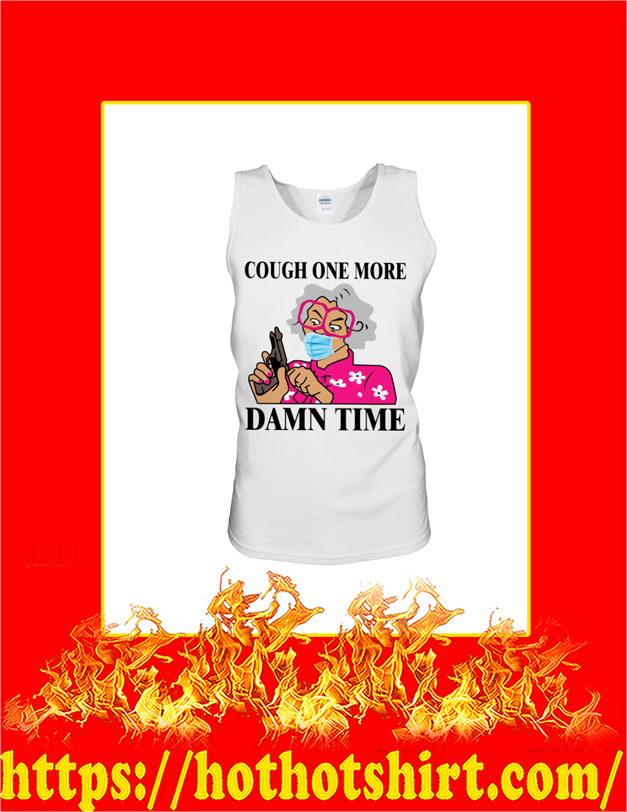 Madea cough one more damn time tank top