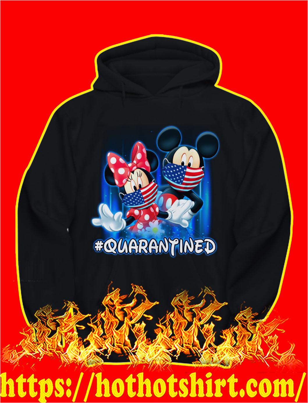 Mickey and minnie quarantined hoodie