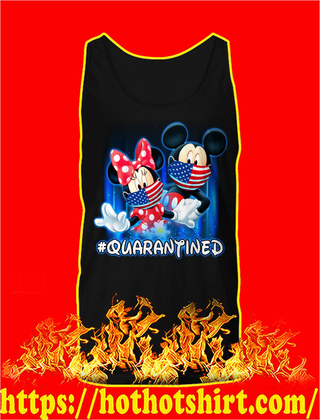 Mickey and minnie quarantined tank top