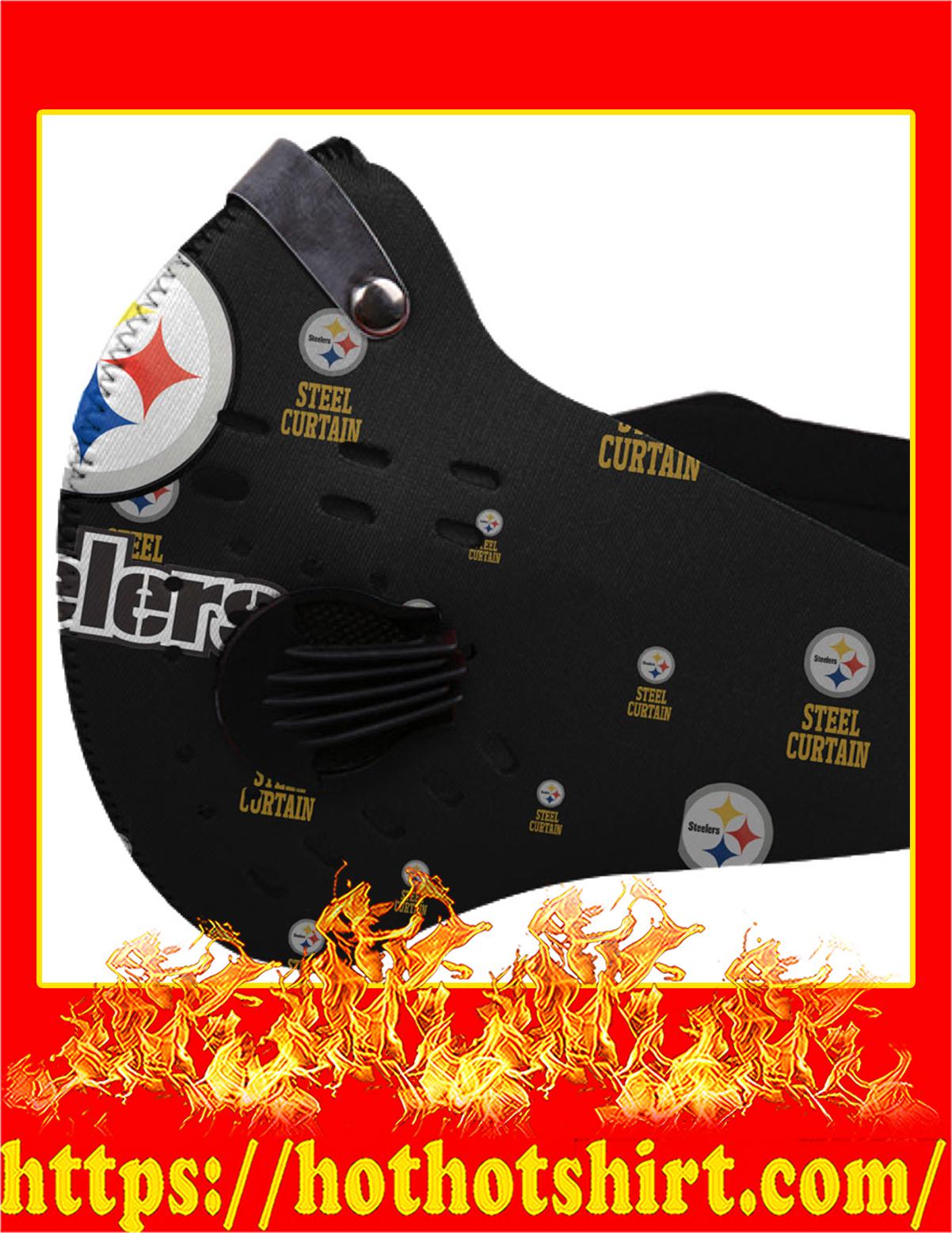 NFL steelers logo filter face mask - Pic 1
