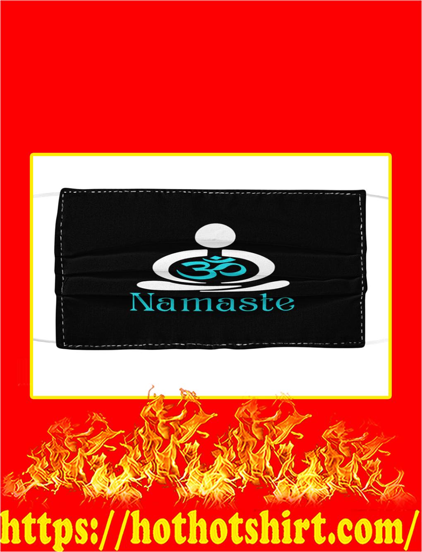 Namaste cloth face mask- pic 1