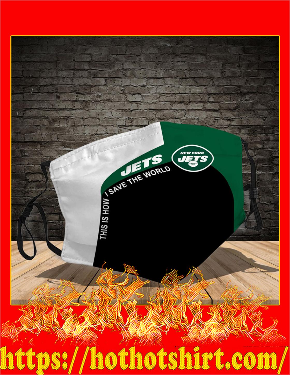 New York Jets 3d face mask - Detail