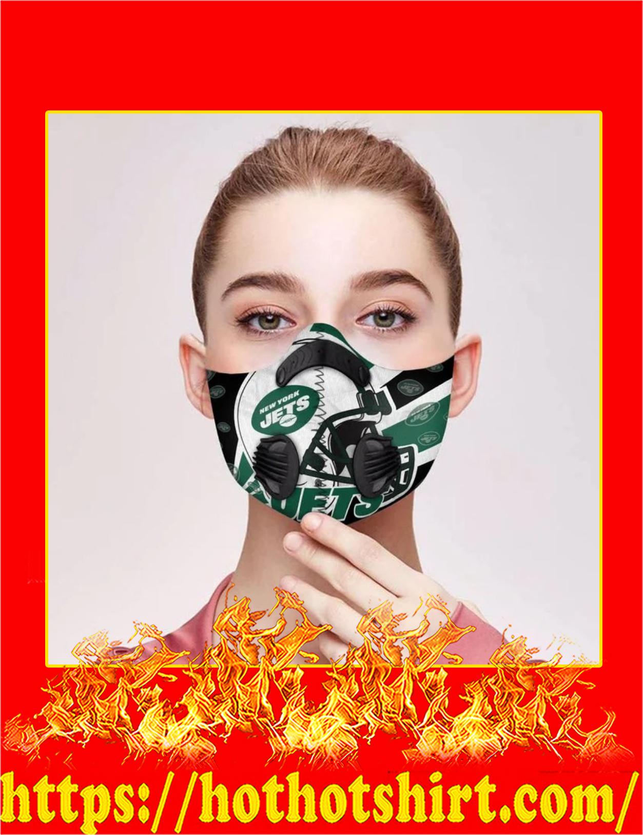 New York Jets filter face mask - Detail