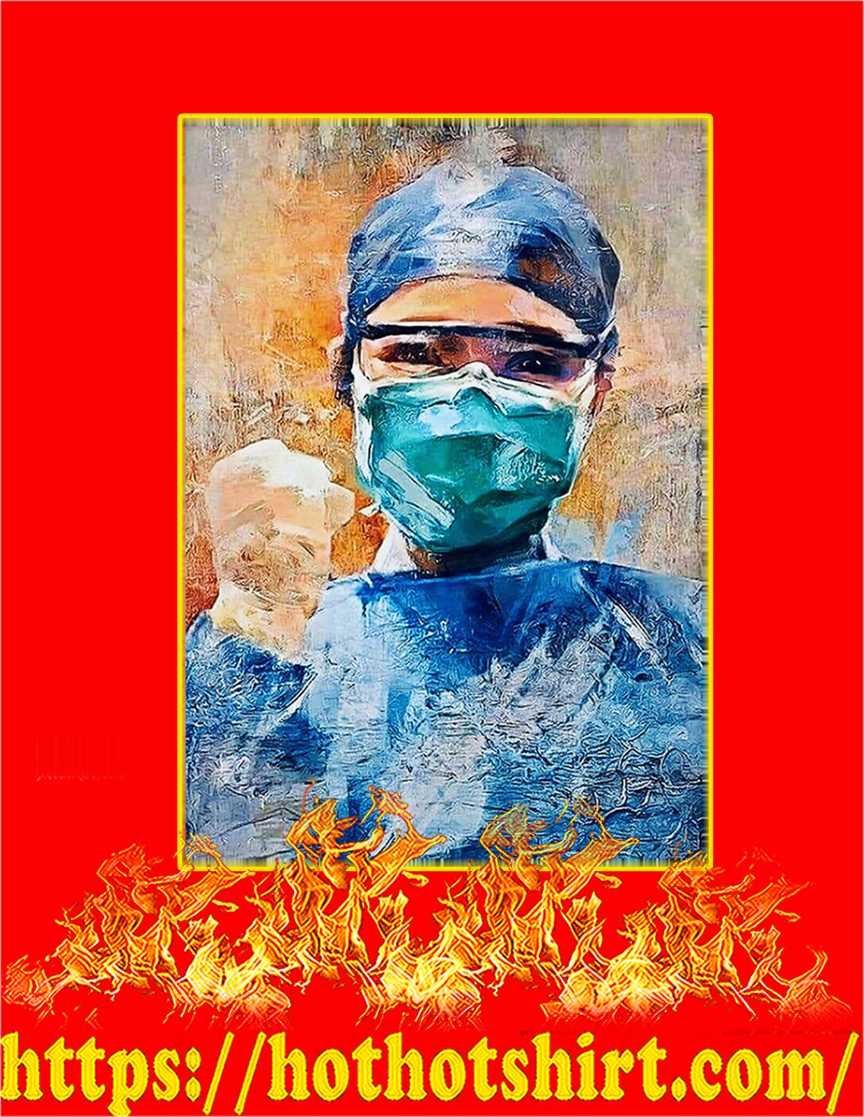 Nurse Vertical Poster - A3