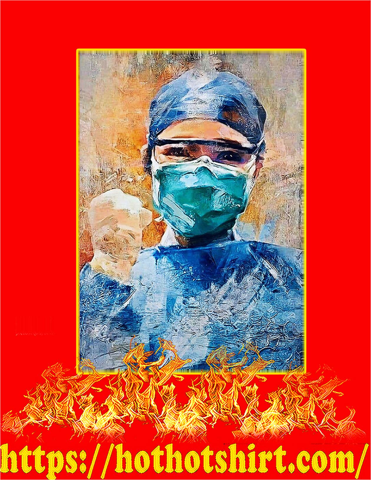 Nurse Vertical Poster - A4