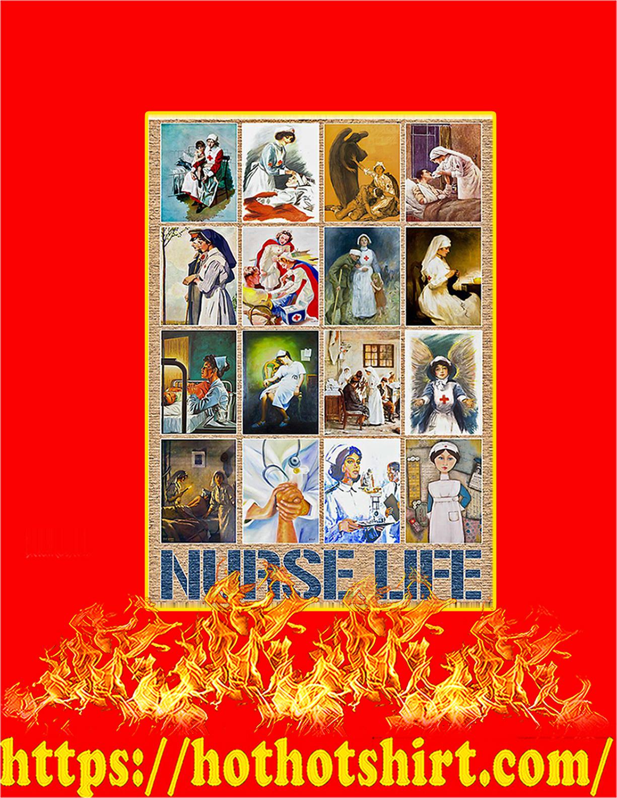 Nurse life poster - A4