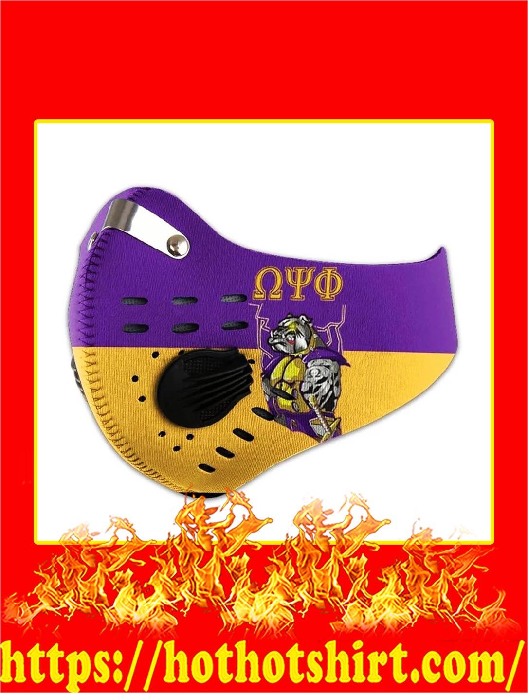Omega dog face mask - pic 1