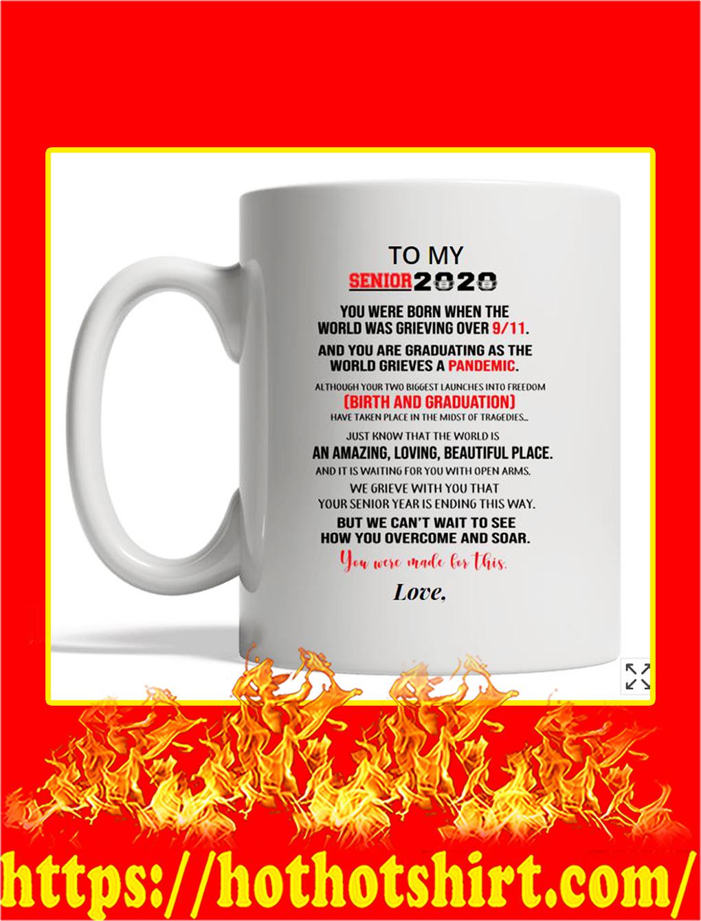 Personalized custom to my senior 2020 mug