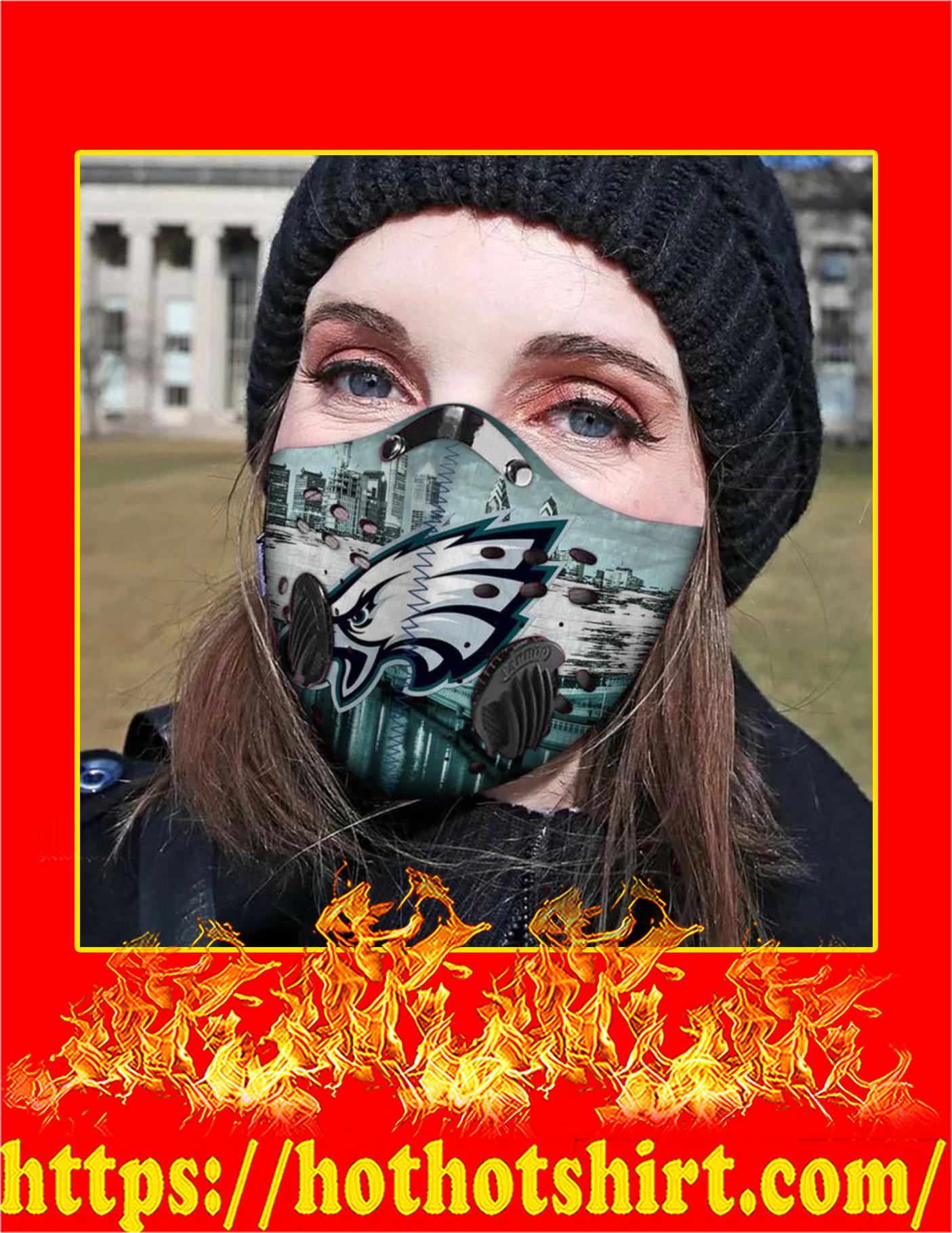 Philadelphia eagles filter face mask - Pic 3