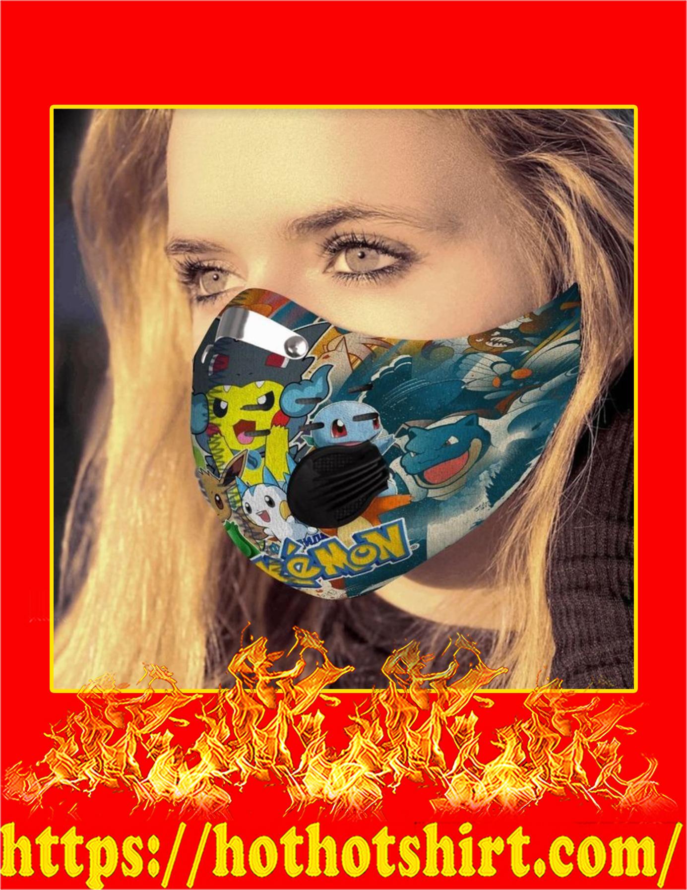 Pokemon filter face mask - Pic 2