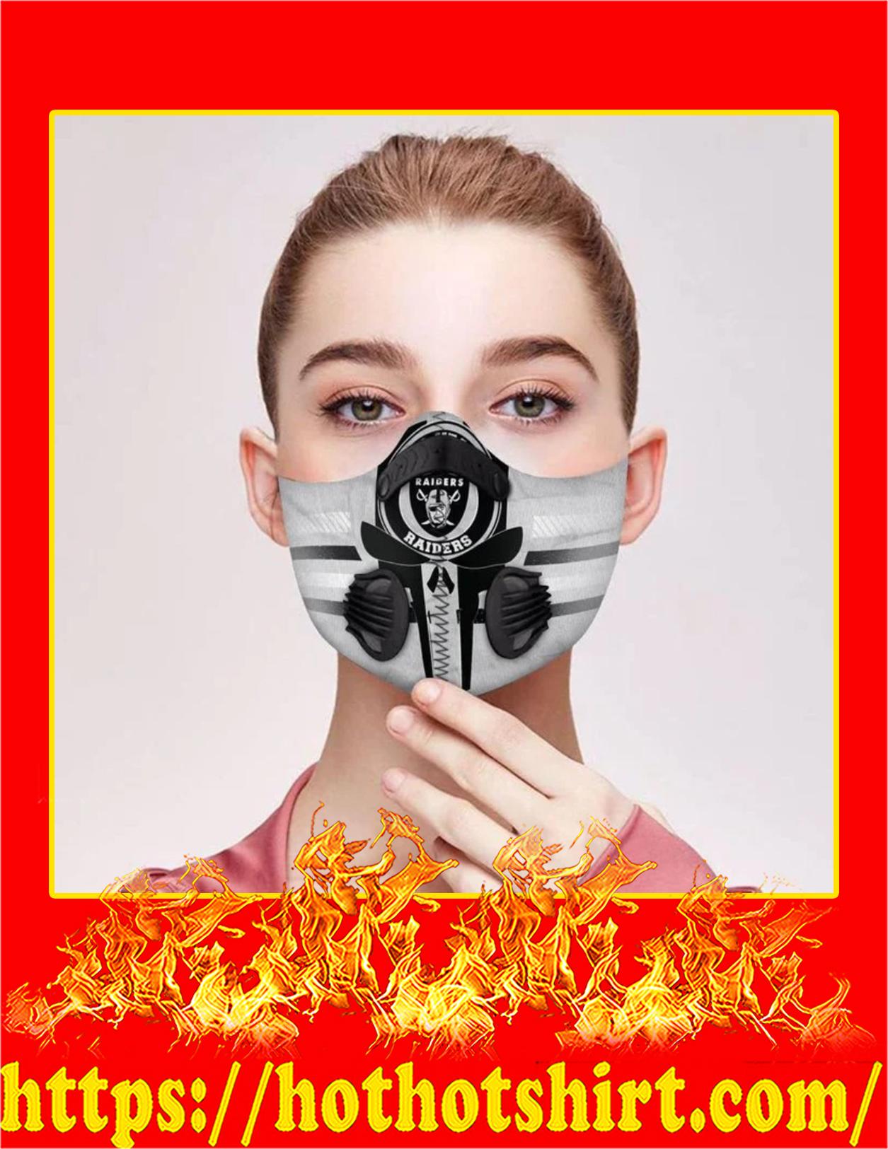 Raiders punisher skull filter face mask - Pic 1