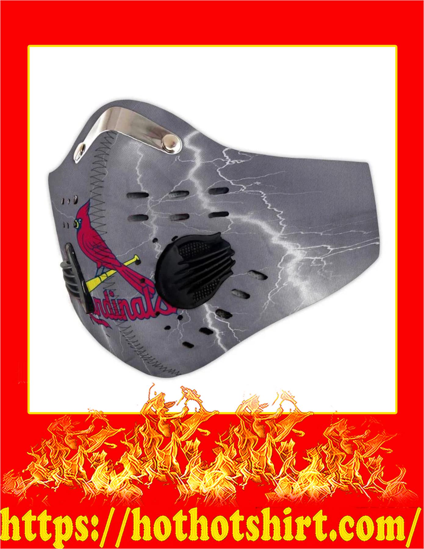 St louis cardinals filter face mask - Pic 1