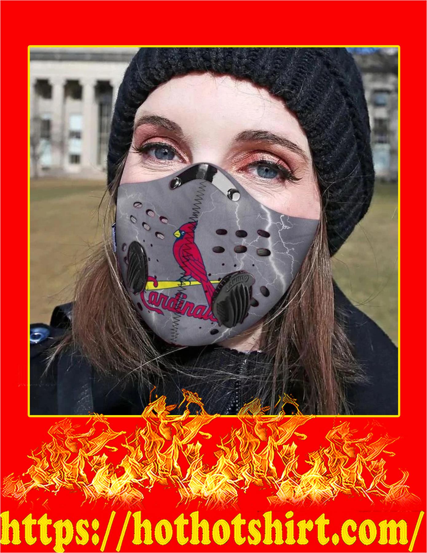 St louis cardinals filter face mask - Pic 2