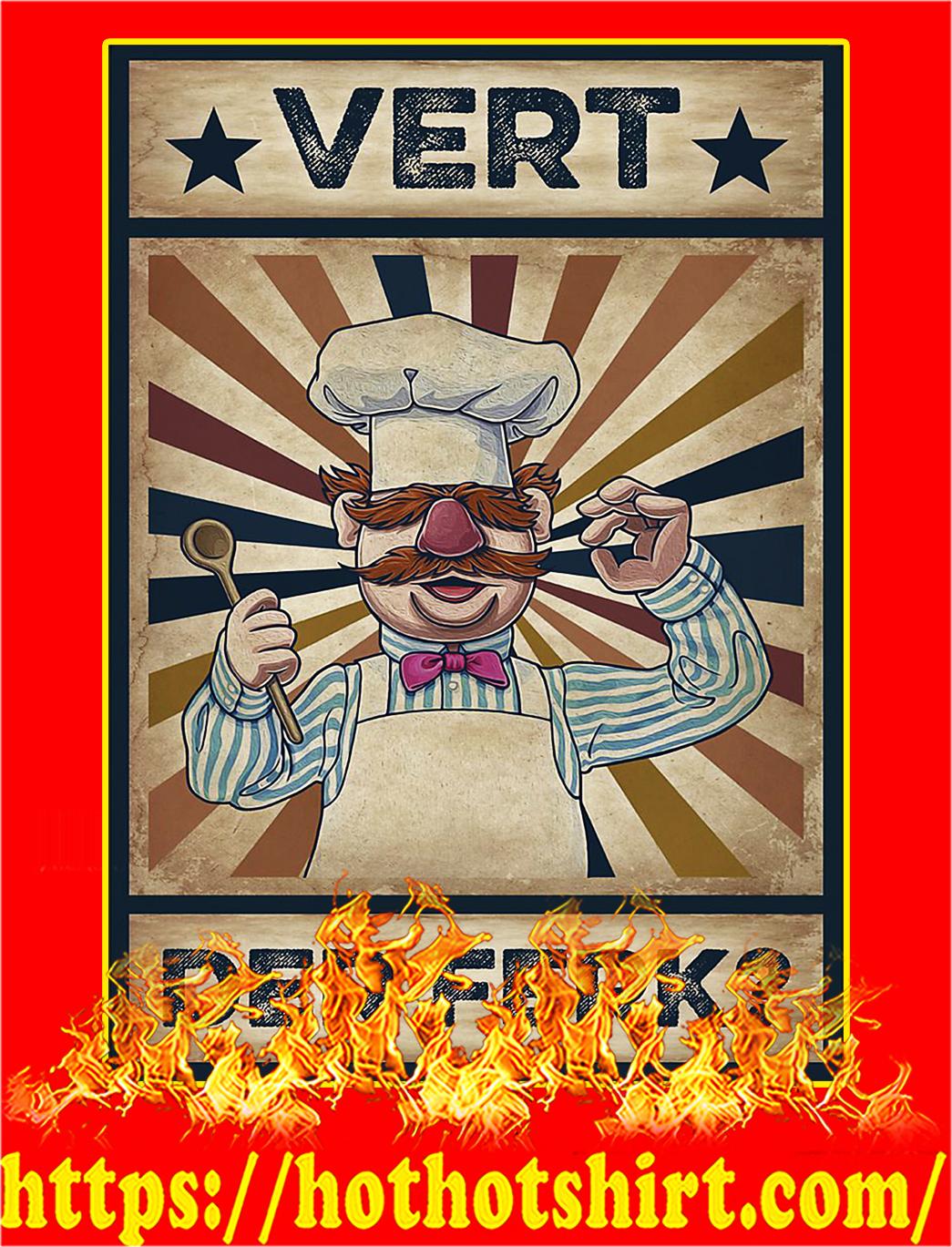 Vert Der Ferk Poster - A2