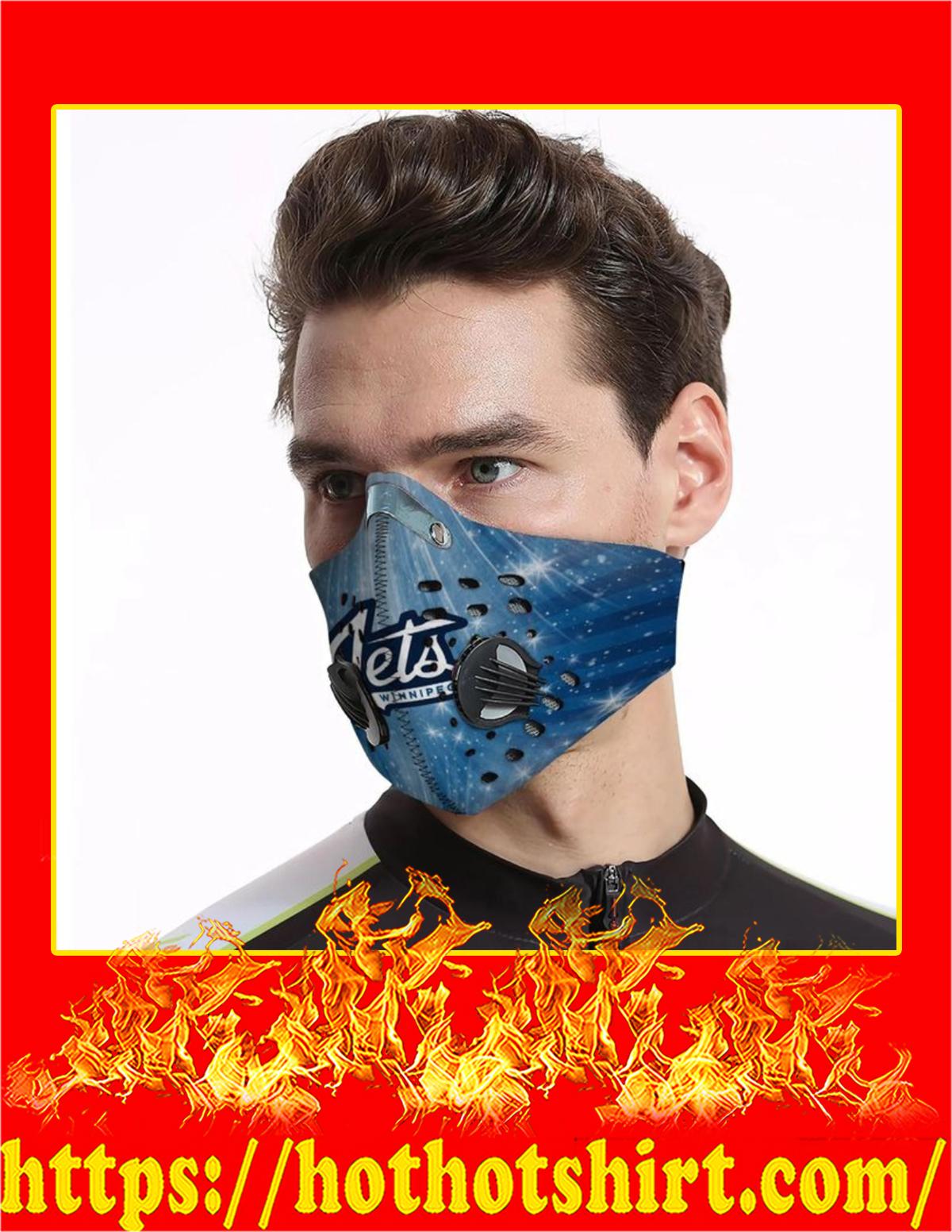 Winnipeg jets filter face mask - Pic 1