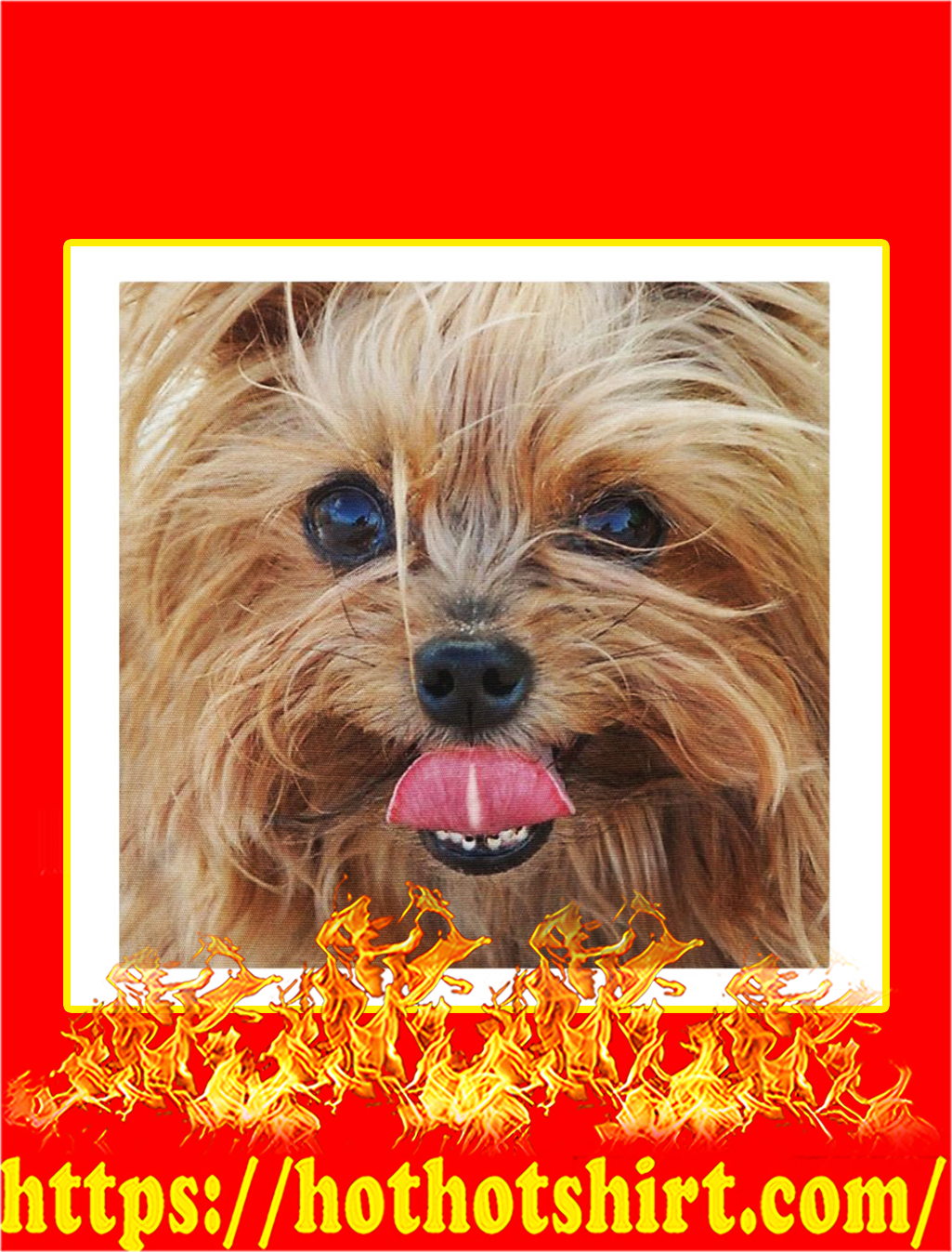 Yorkshire Terrier Cloth Face Mask- pic 2