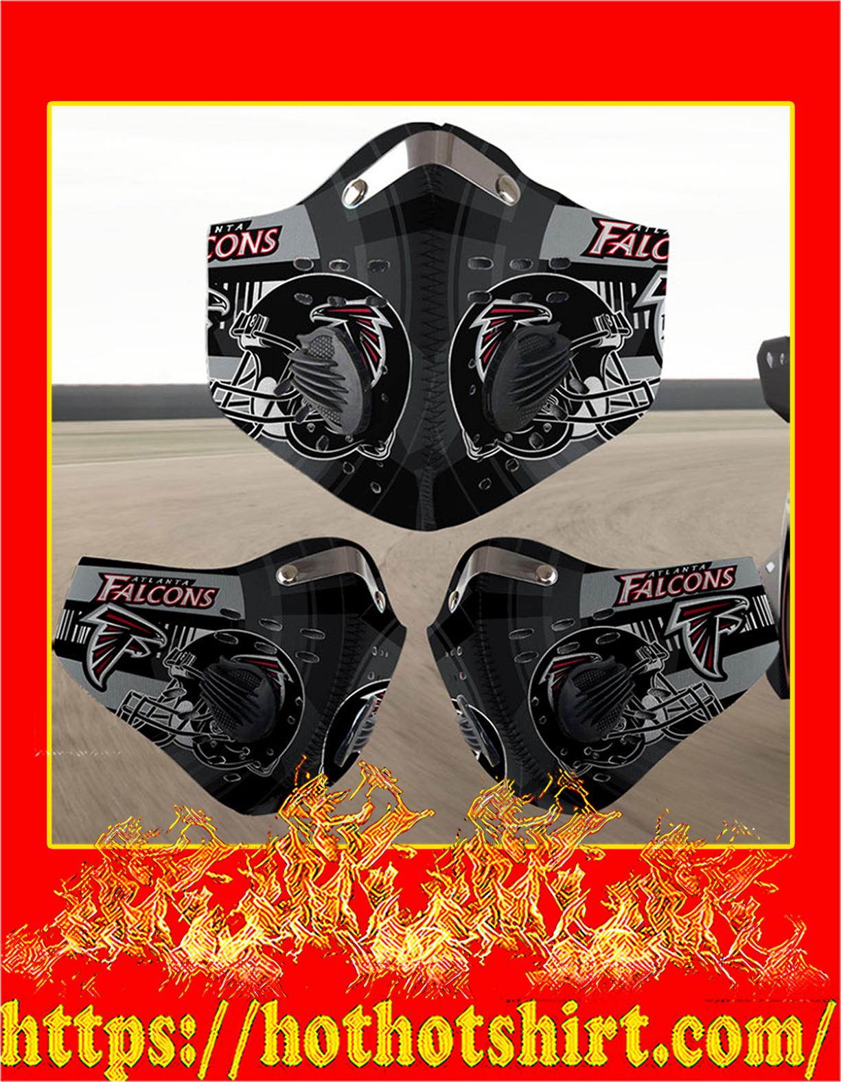 Atlanta Falcons filter face mask - Detail