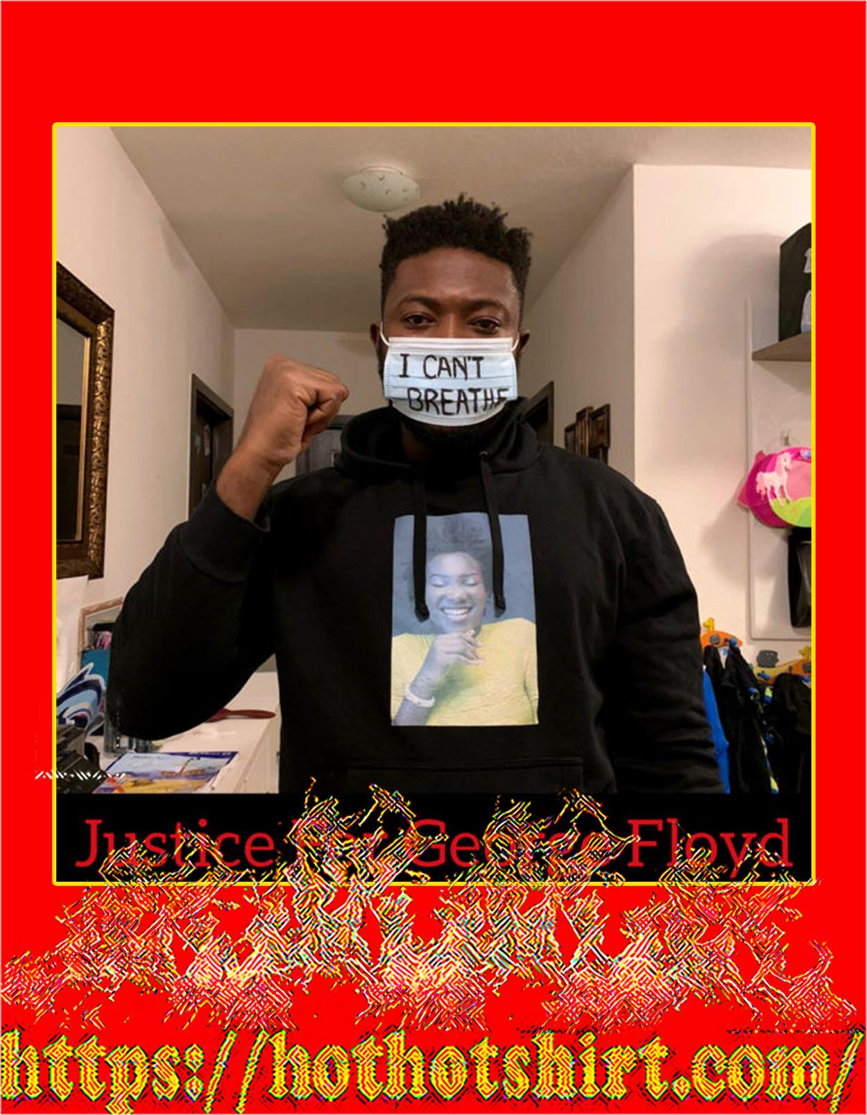 Black lives matter george floyd face mask - Detail