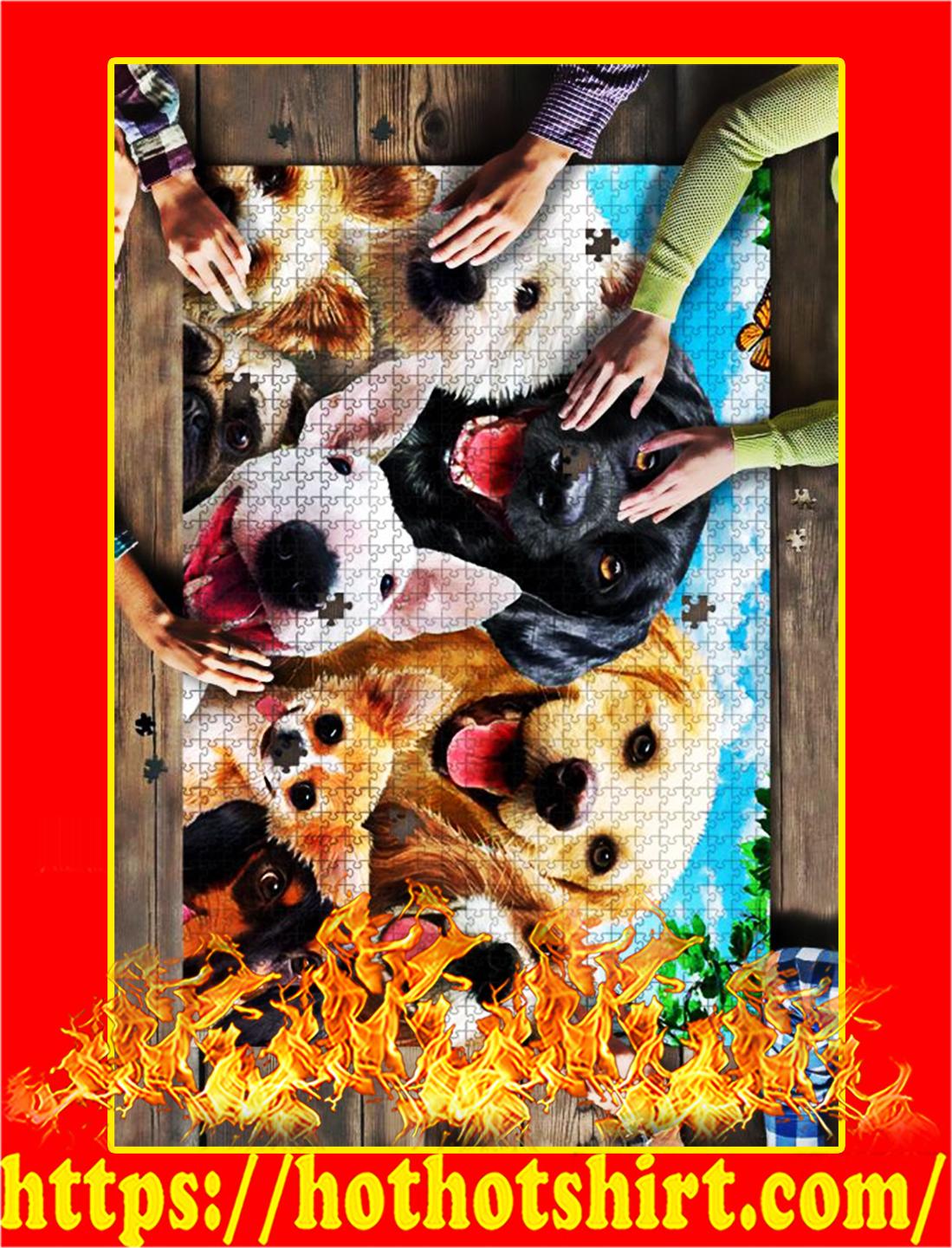 Dog Selfie Jigsaw Puzzle - 500 pieces