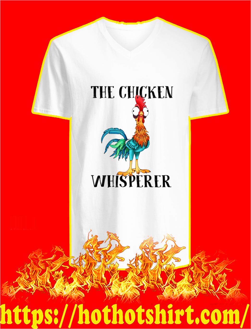 Hei hei the chicken whisperer v-neck
