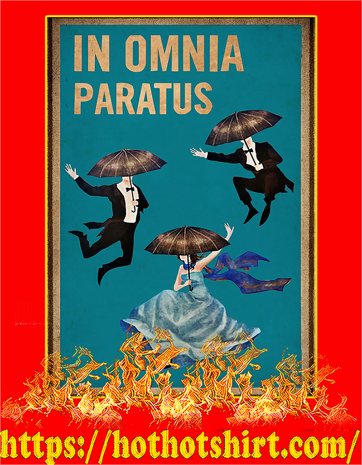 In omnia paratus poster - A3