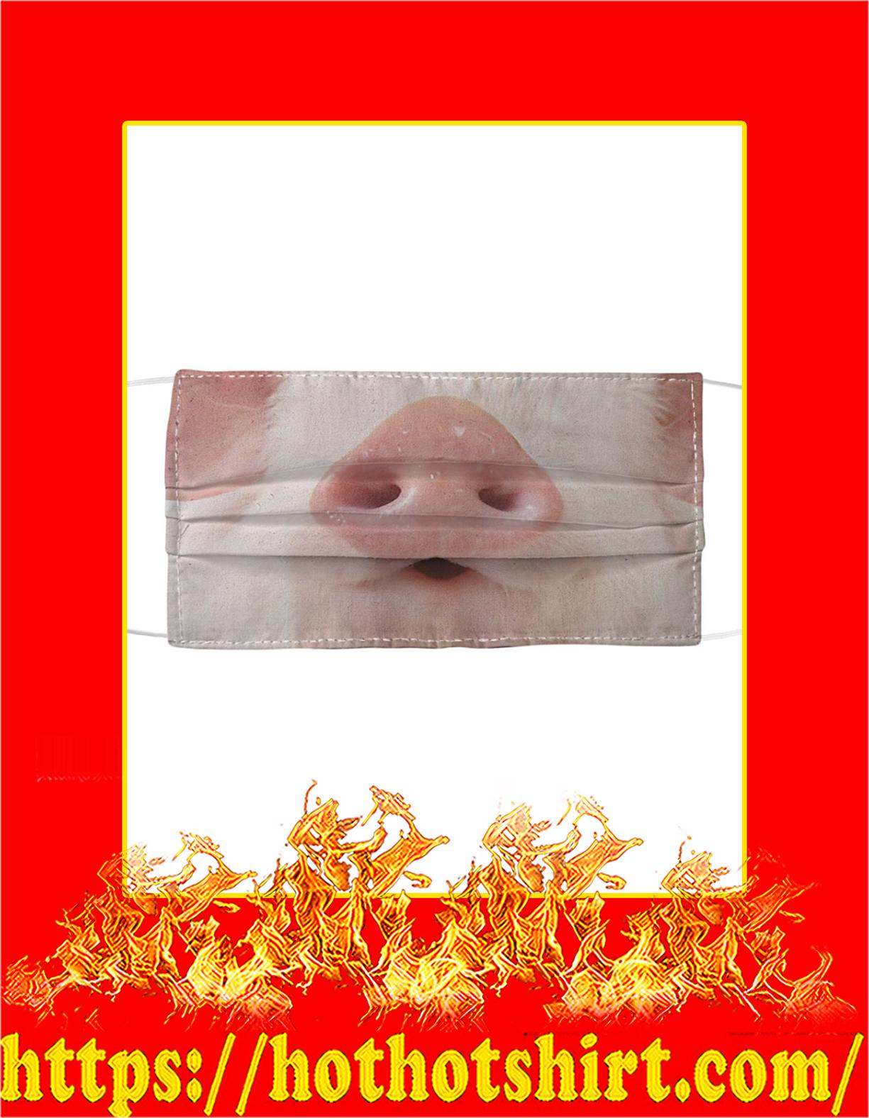 Pig nose face mask