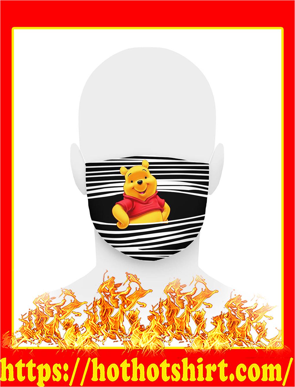 Pooh bear 3d face mask- pic 1