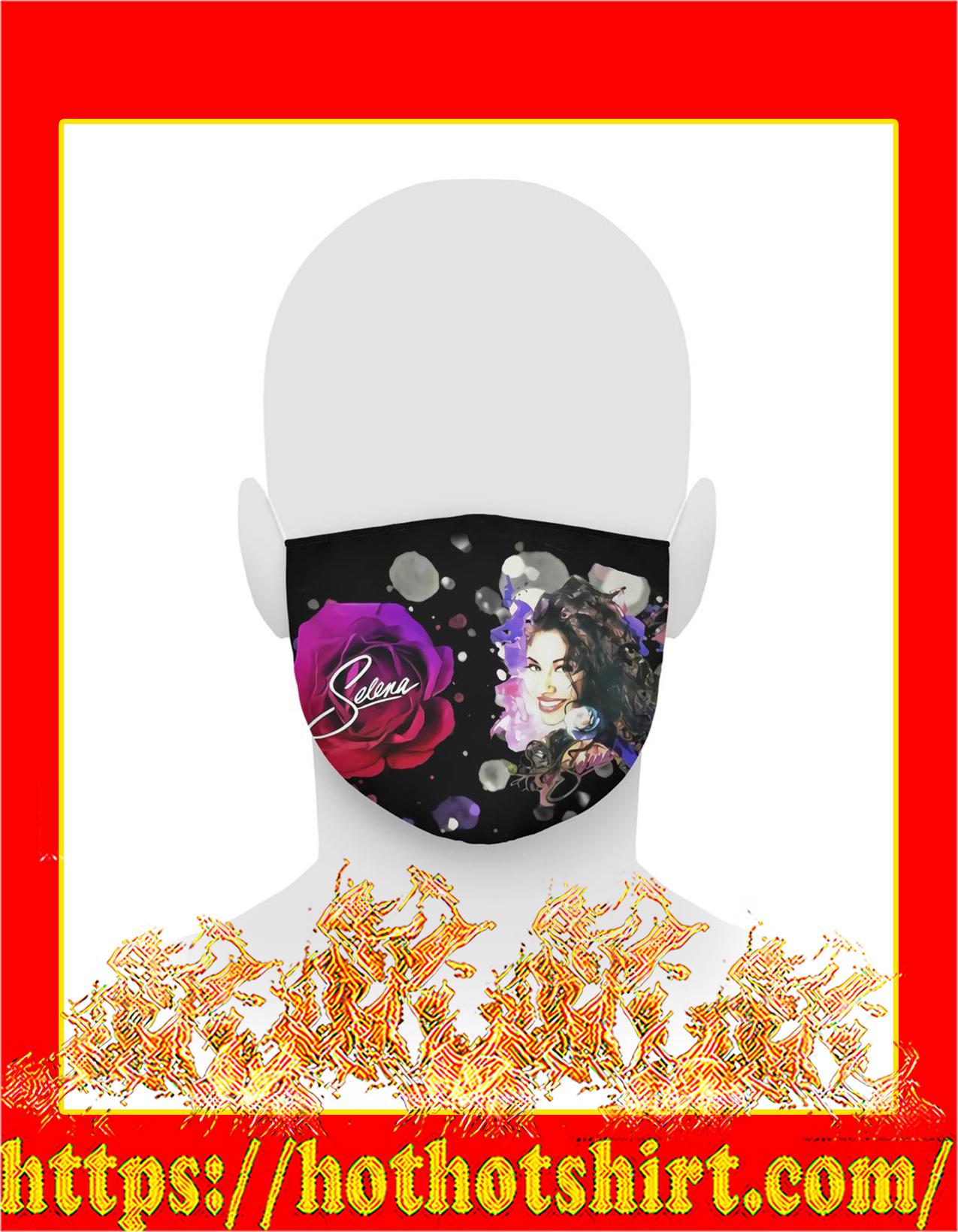 Selena 3d face mask - detail