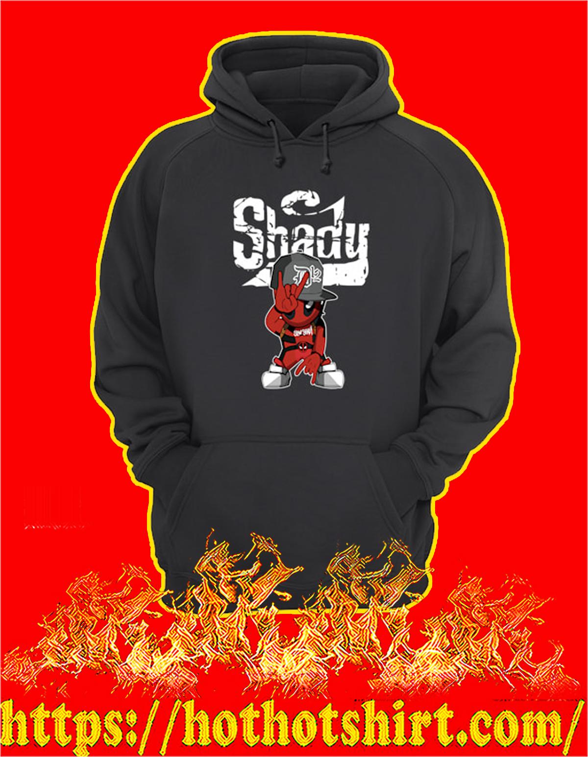 Slim shady D12 deadpool hoodie