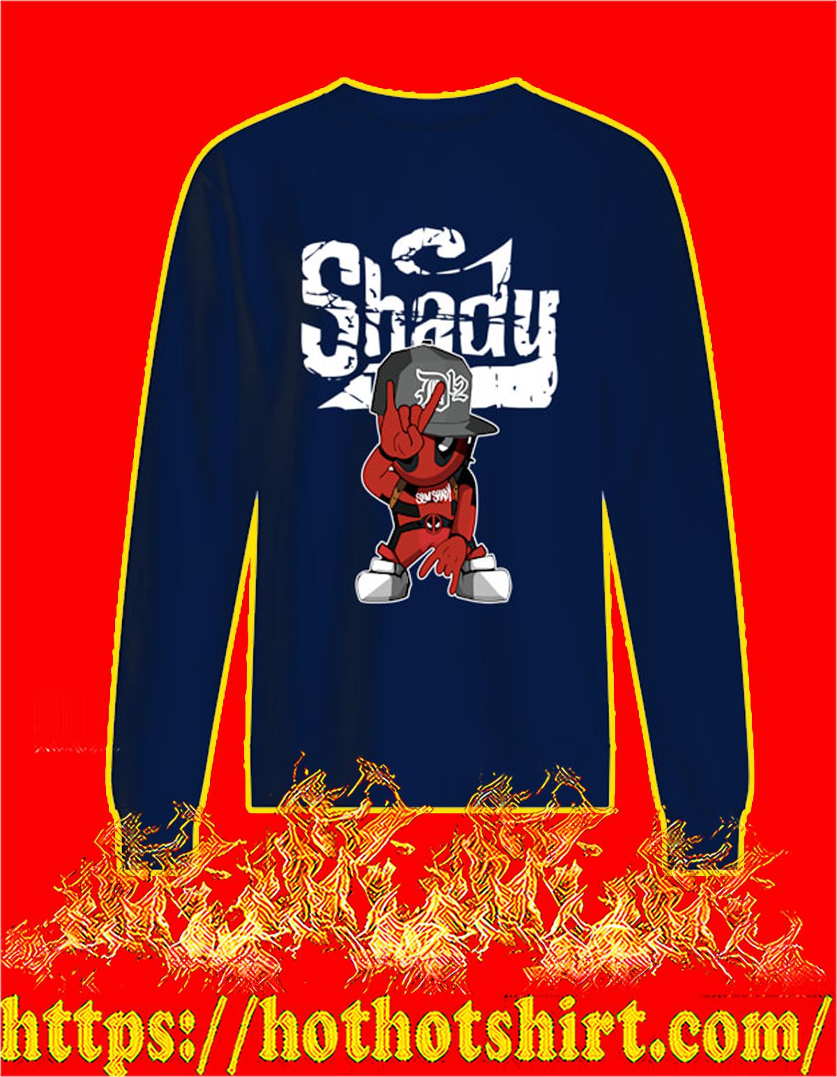 Slim shady D12 deadpool sweatshirt
