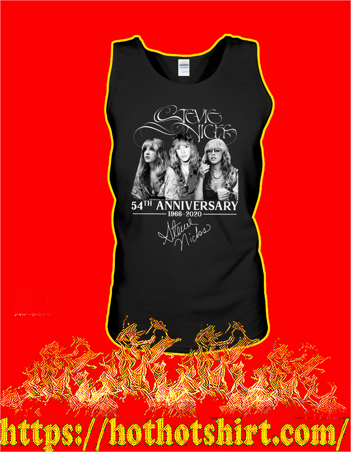 Stevie nicks 54th anniversary signature tank top