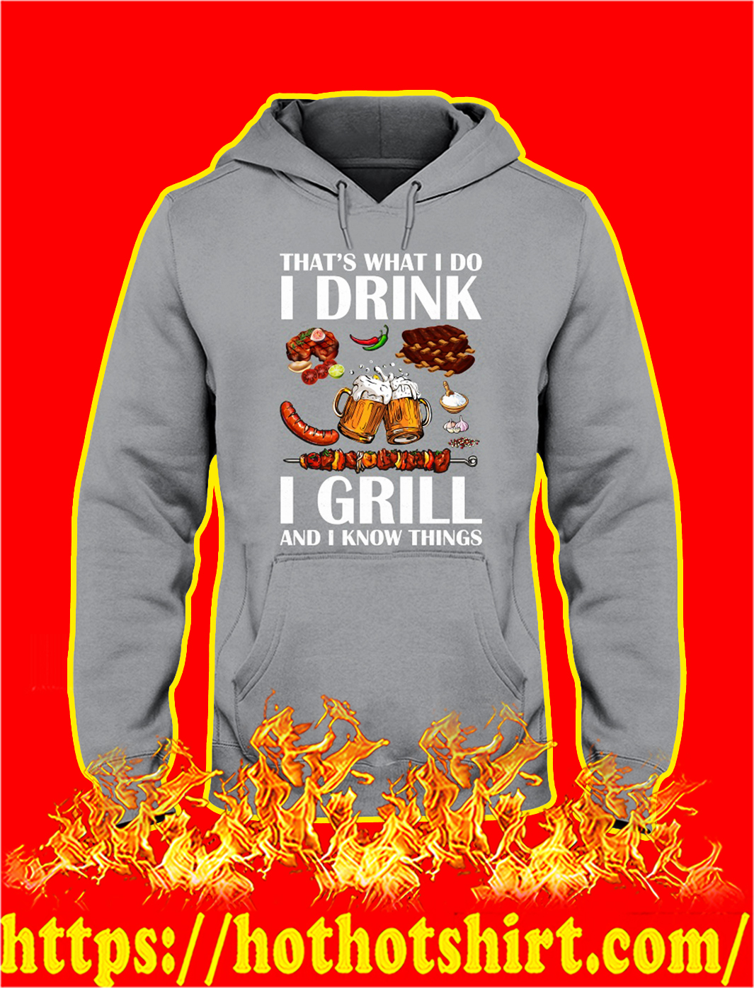 That's what I do I drink I girl and I know things hoodie