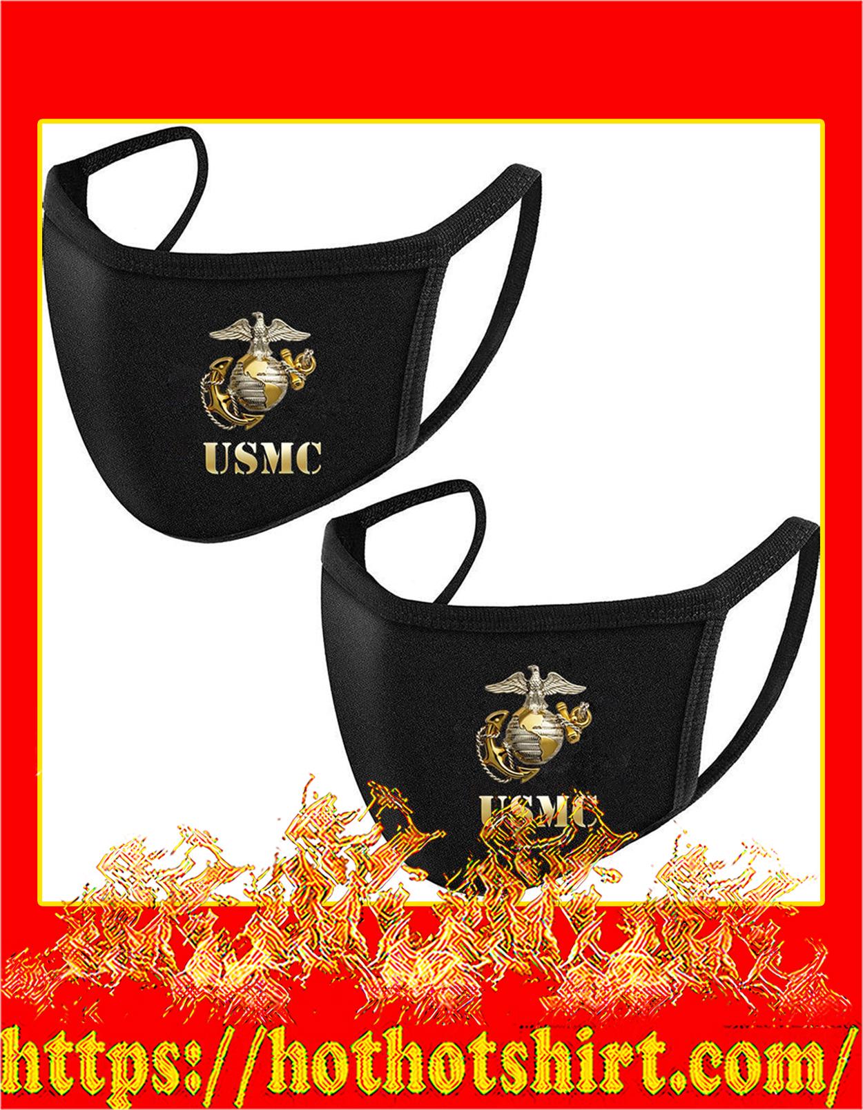 USMC Marine corps face mask - detail