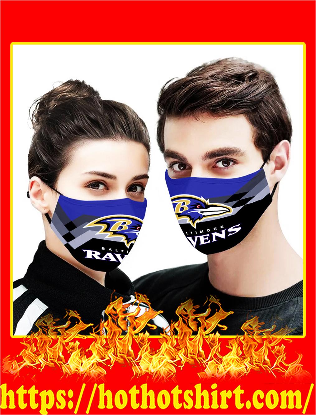 Baltimore ravens face mask - pic 1