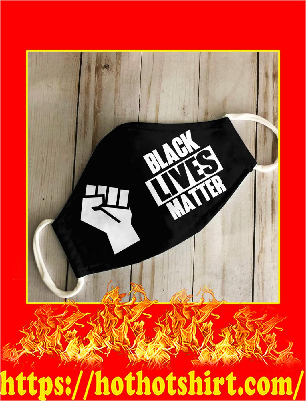Black lives matter 3d face mask