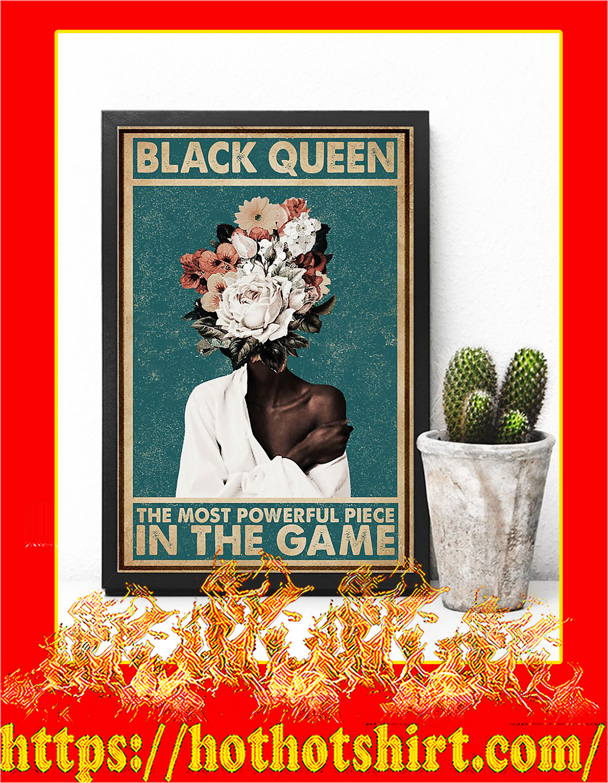 Black queen the most powerful piece in the game poster - Pic 3