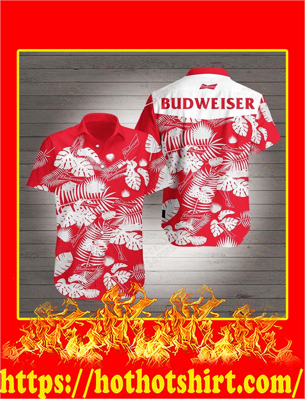 Budweiser Hawaiian 3D Shirt - S