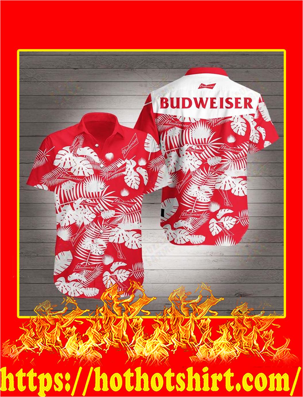 Budweiser Hawaiian 3D Shirt