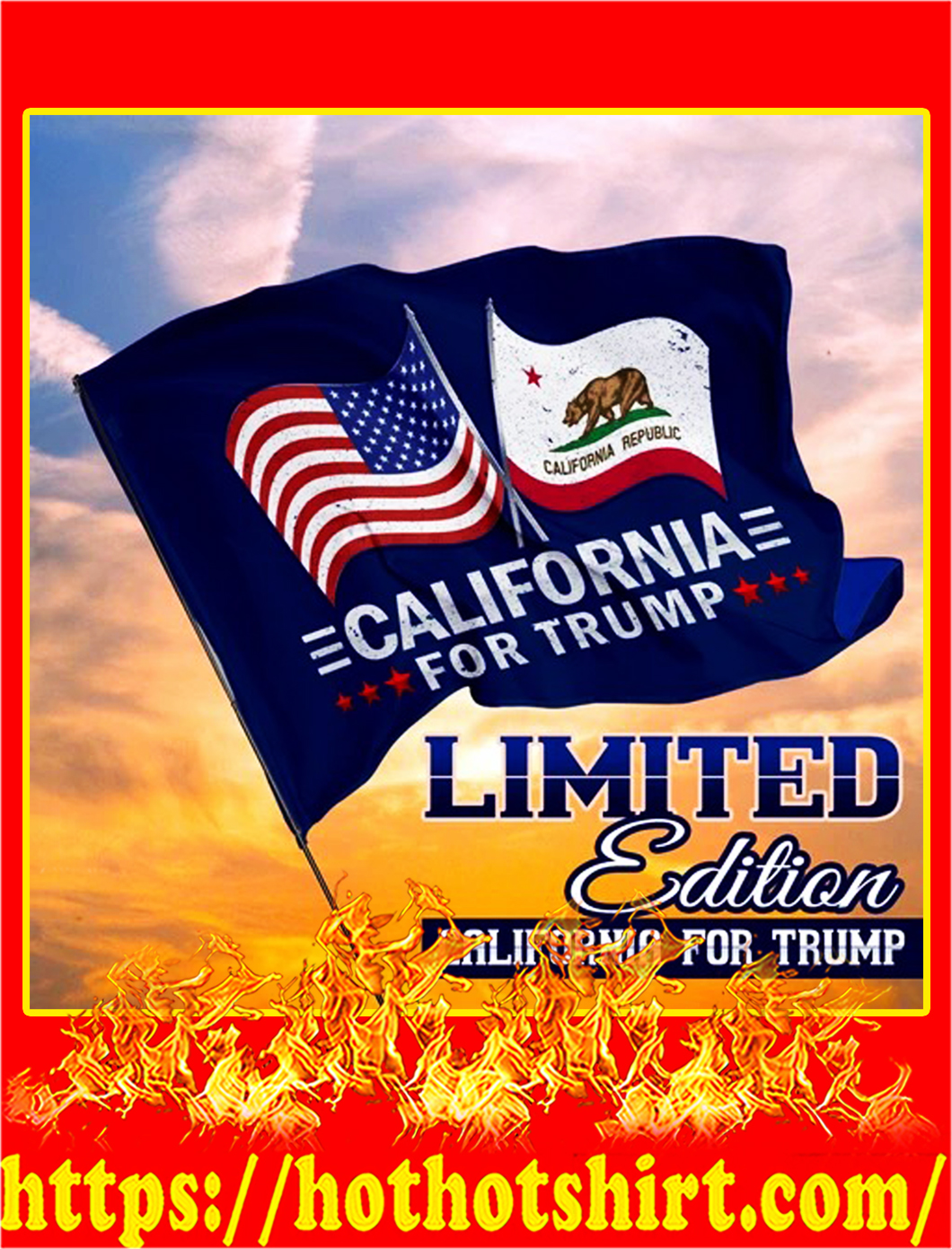 California for trump flag - pic 1