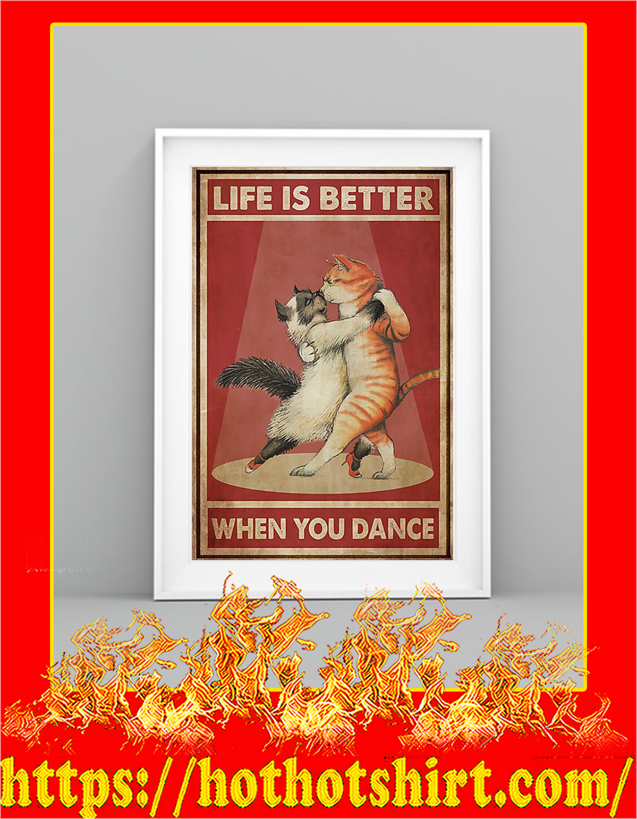 Cats life is better when you dance - Pic 2