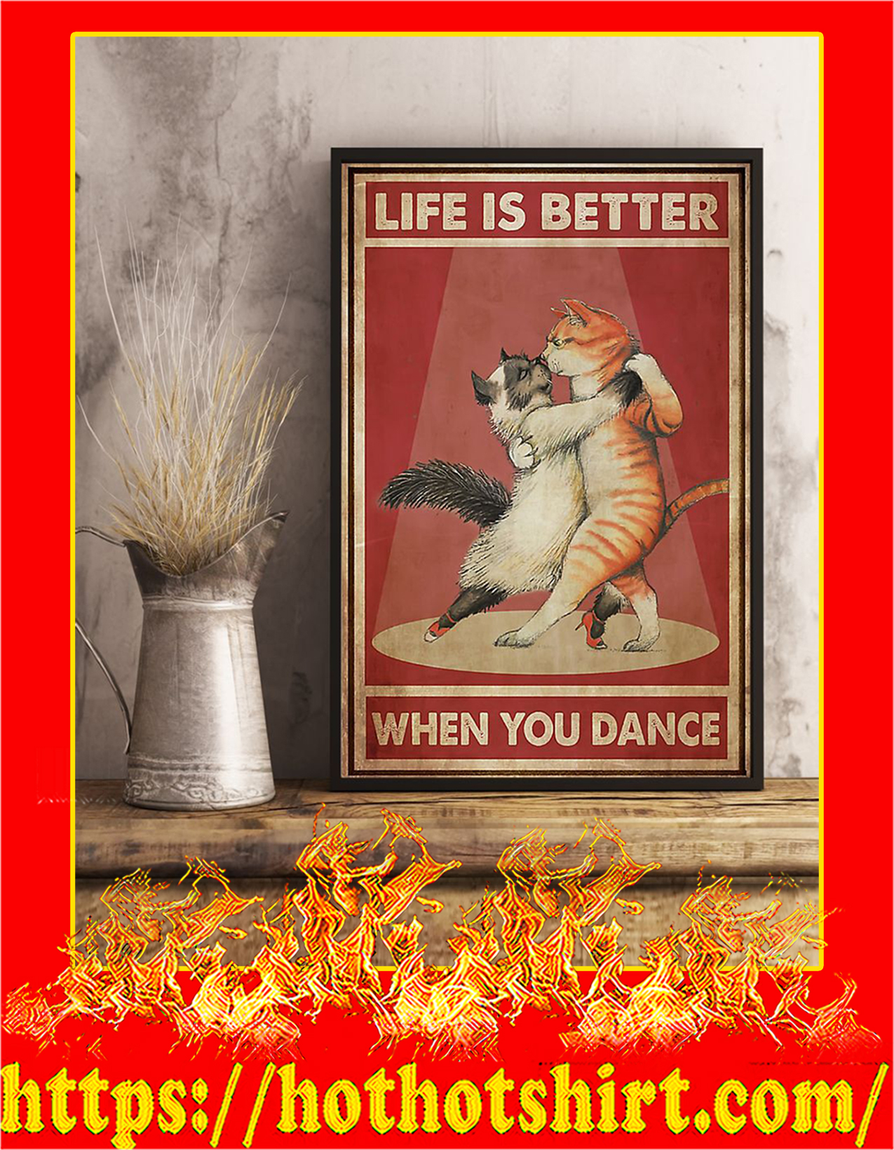 Cats life is better when you dance - Pic 3