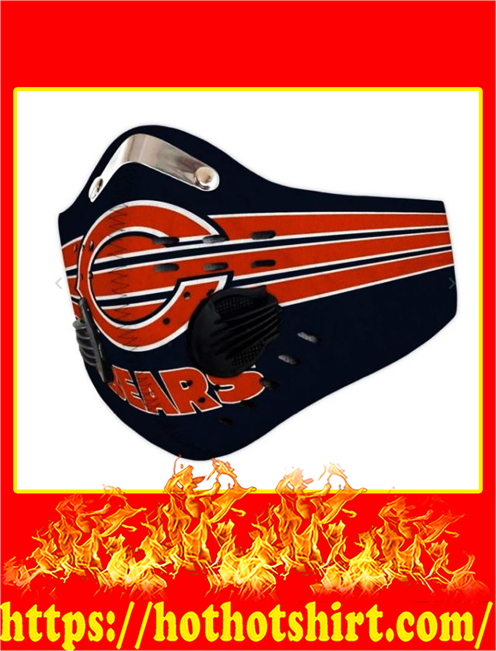 Chicago Bears POD Face Mask - pic 1