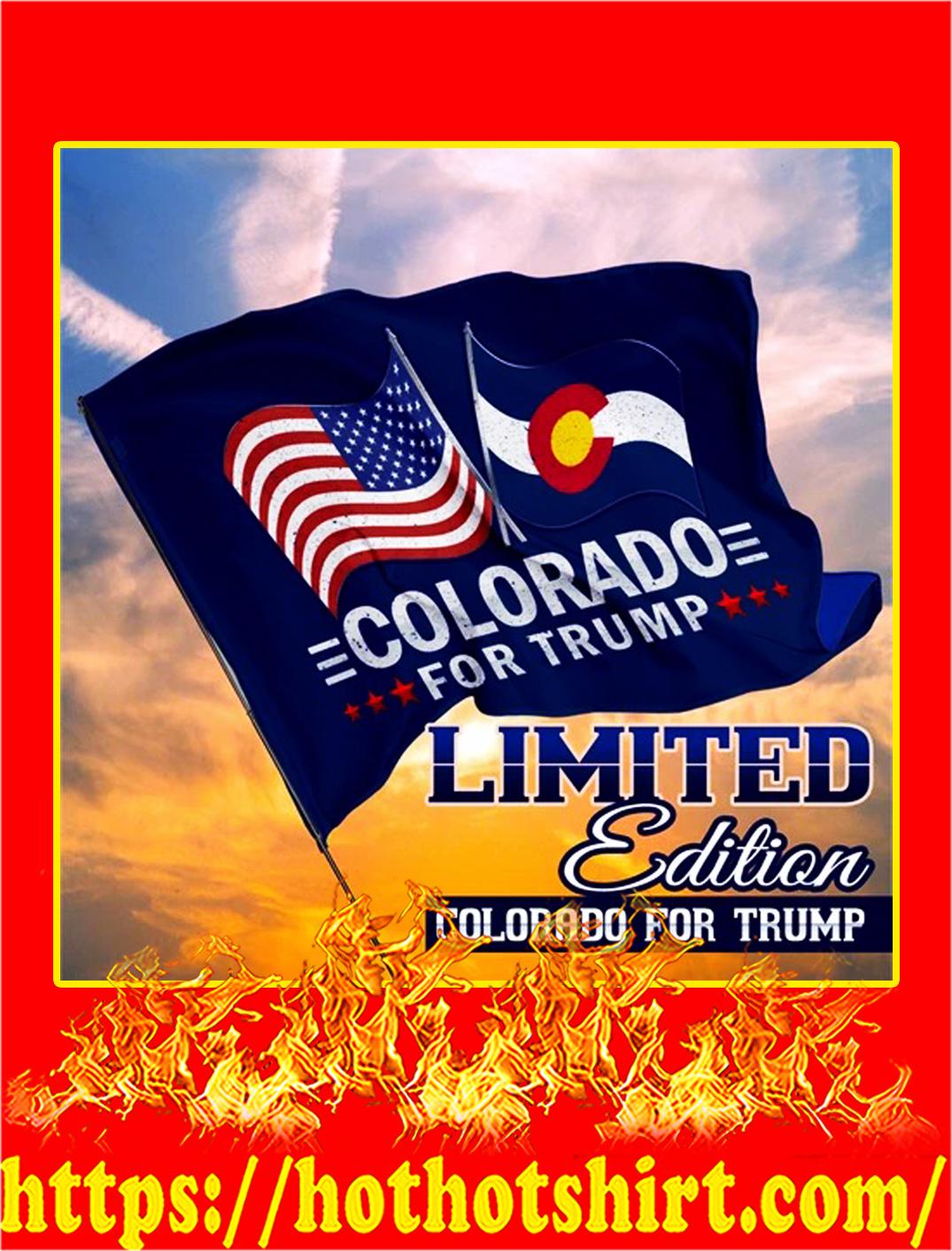 Colorado for trump flag - pic 1