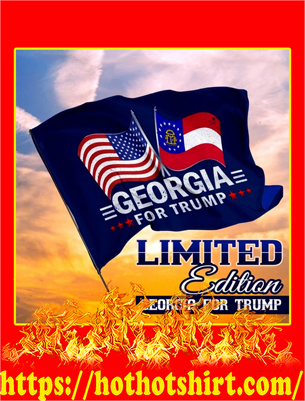 Georgia for trump flag - pic 1