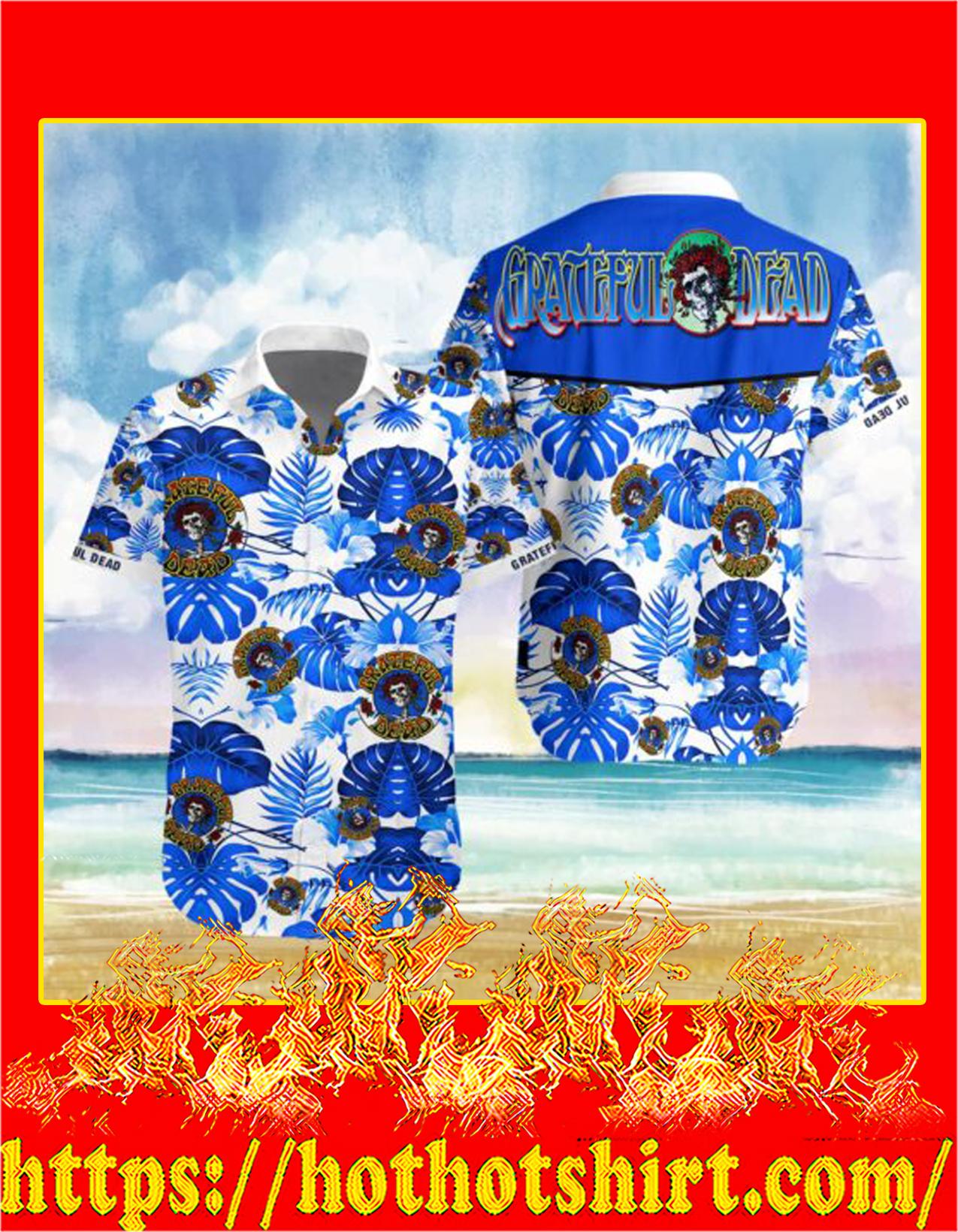Grateful dead hawaiian shirt - detail